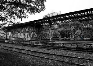 La Gare Désertée
