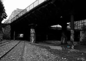 Les Colonnes Graffées
