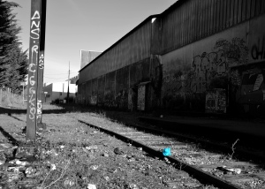 Le Rail Graffitique
